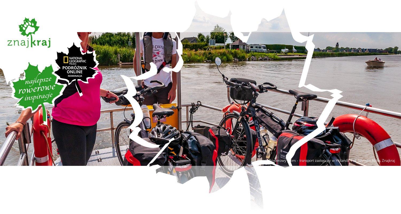 Rowerowy prom - transport zastępczy w Holandii