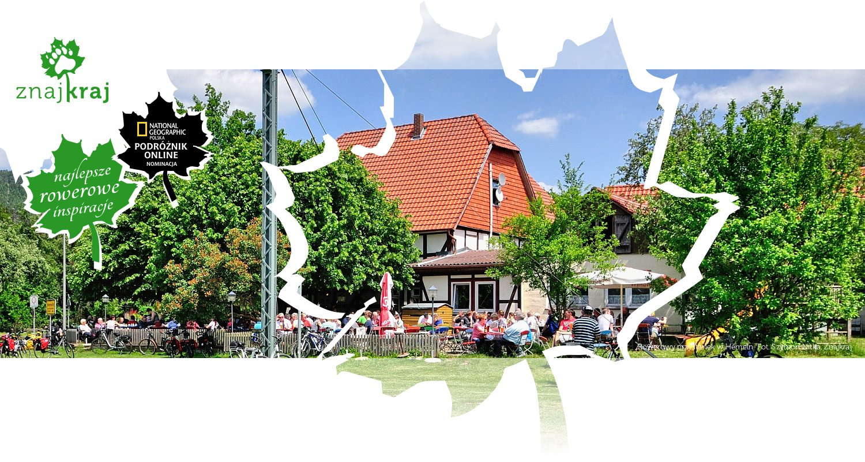 Rowerowy przystanek w Hemeln