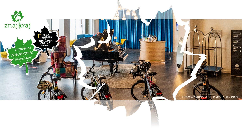Rowery w Arthotelu w Lipsku