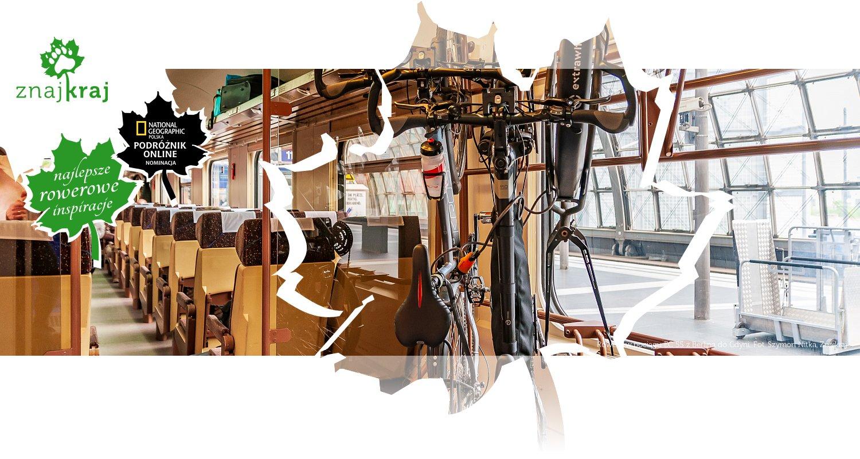 Rowery w pociągu EC 55 z Berlina do Gdyni
