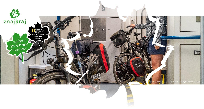 Rowery w pociągu SBB w Szwajcarii