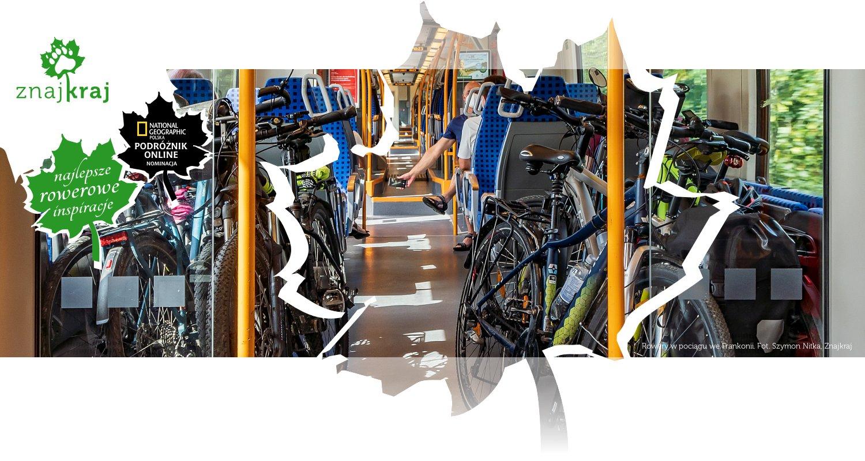 Rowery w pociągu we Frankonii
