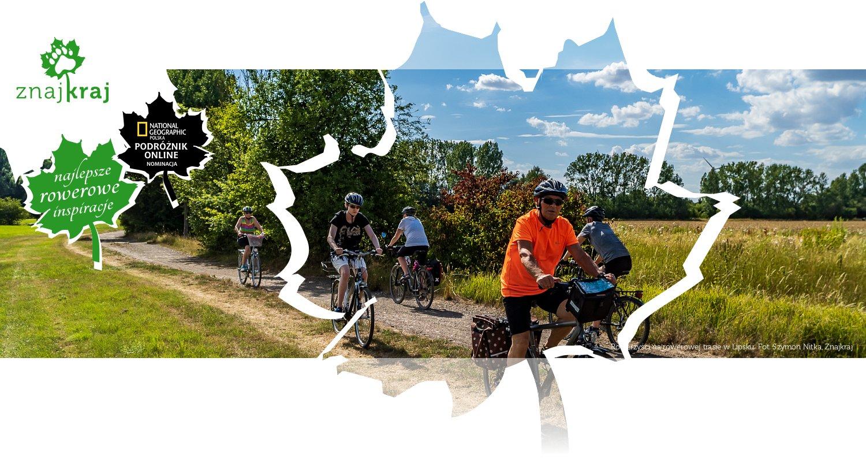 Rowerzyści na rowerowej trasie w Lipsku