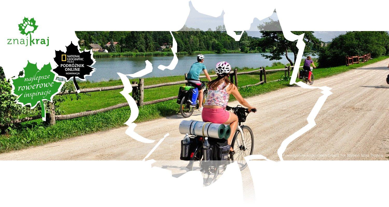 Rowerzyści na Szlaku Orlich Gniazd