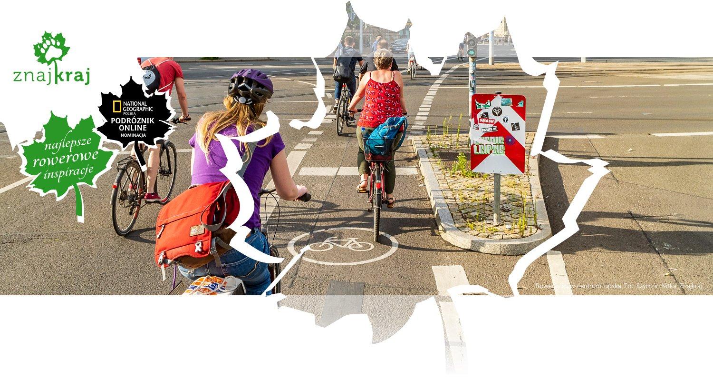 Rowerzyści w centrum Lipska