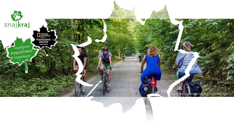 Ruch na rowerowej trasie w Lipsku