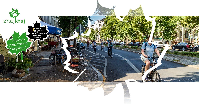 Ruch rowerowy na drogach Lipska