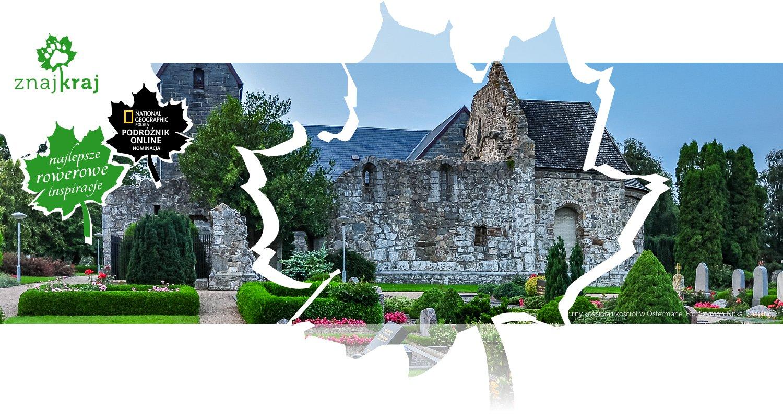 Ruiny kościoła i kościół w Ostermarie