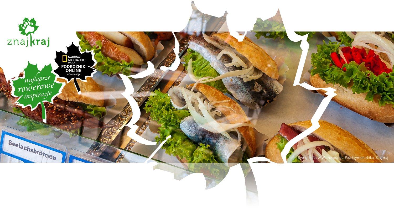 Rybny bufet w Warnemünde