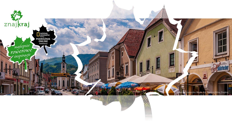 Rynek w miasteczku Weyer