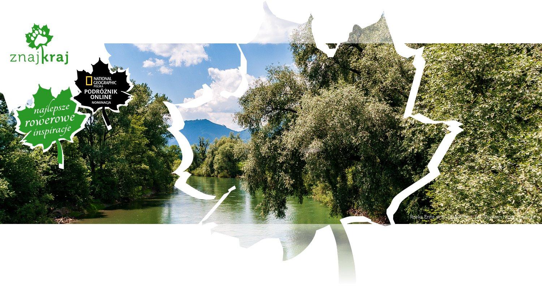 Rzeka Enns w Styrii w Austrii