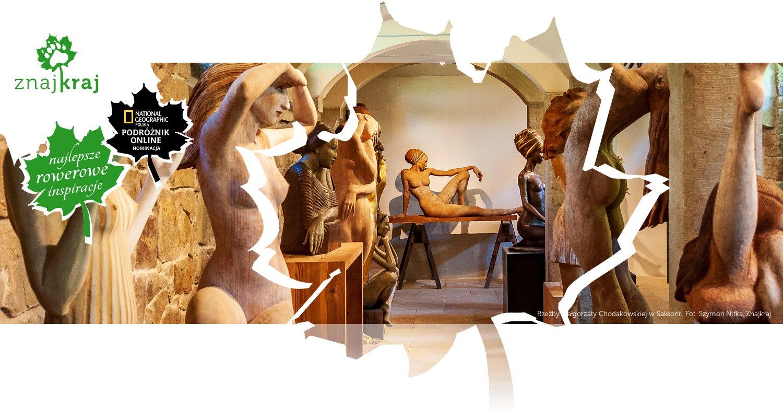 Rzeźby Małgorzaty Chodakowskiej w Saksonii