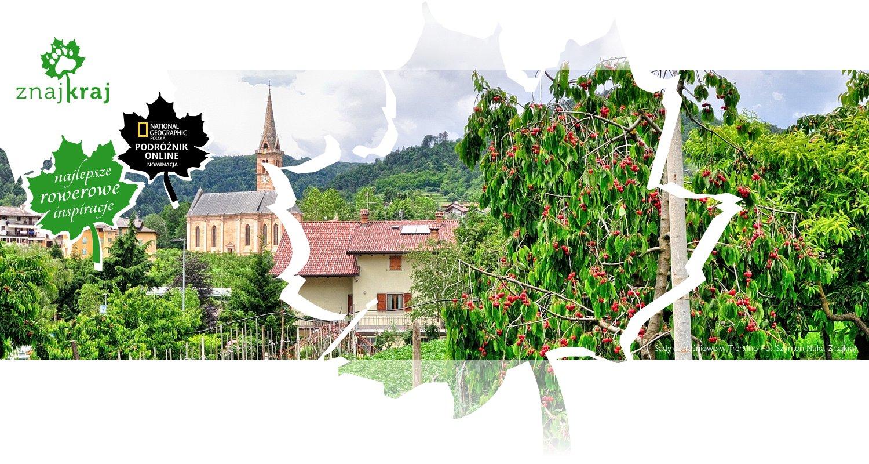 Sady czereśniowe w Trentino