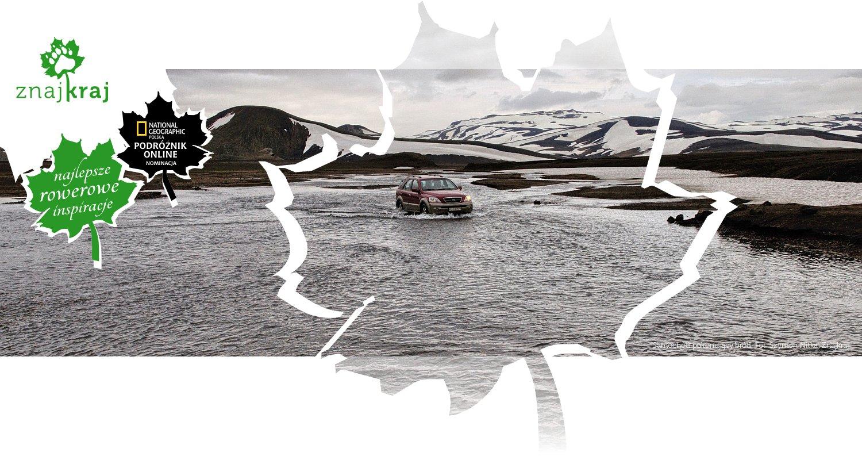 Samochód pokonujący bród