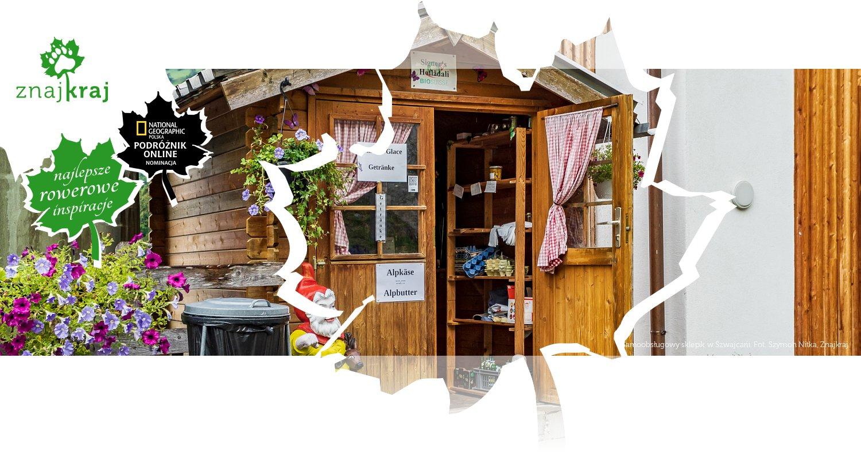 Samoobsługowy sklepik w Szwajcarii