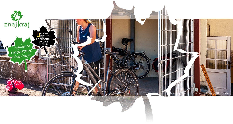 Schowek na rowery w pensjonacie