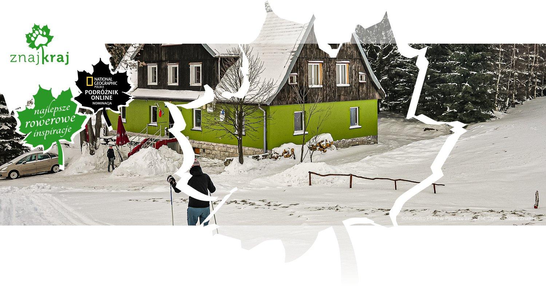 Schronisko PTTK w Pasterce zimą