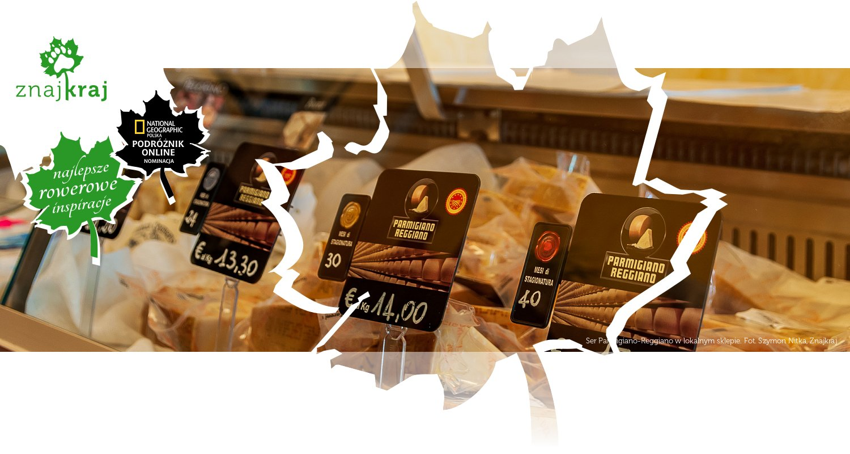 Ser Parmigiano-Reggiano w lokalnym sklepie