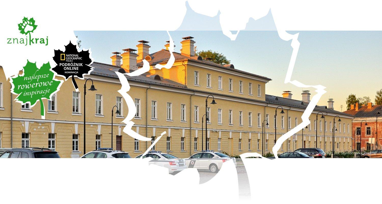 Siedziba policji w twierdzy w Dyneburgu
