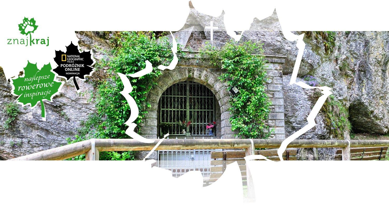 Skalna kapliczka koło Imer