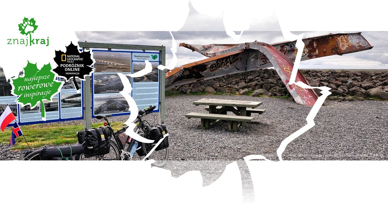 Skeiðarársandur - most zniszczony przez powódź