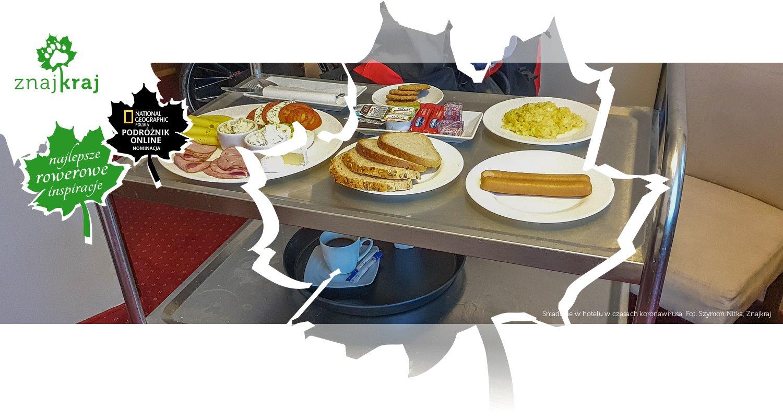 Śniadanie w hotelu w czasach koronawirusa
