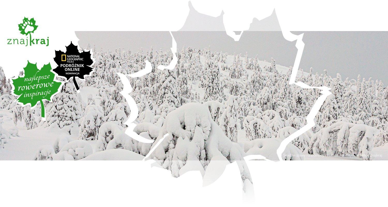 Śnieżne zjawy na północy Finlandii