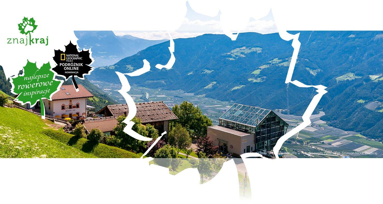 Stacja kolei linowej w Naturns w Południowym Tyrolu