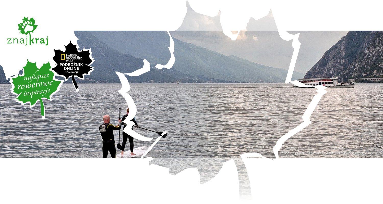 Stand up paddle na jeziorze Garda