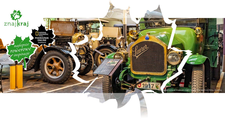 Stara ciężarówka w muzeum marki Saurer