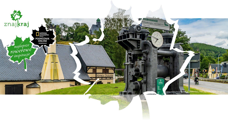Stara maszyna parowa w Olbernhau