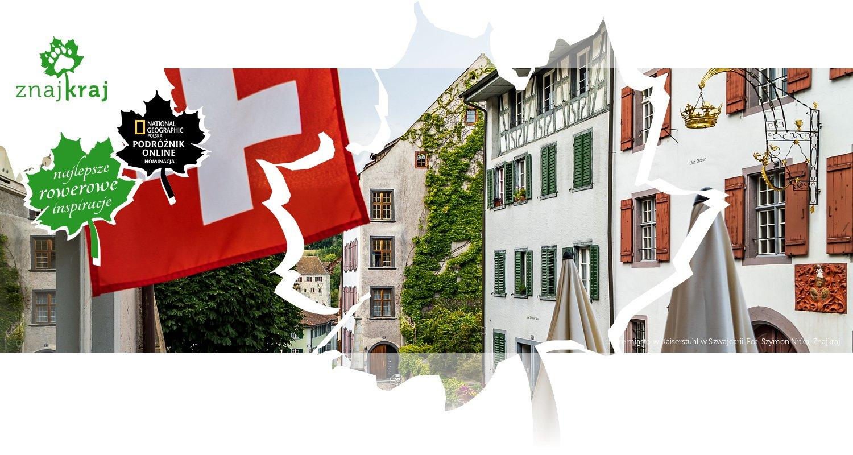 Stare miasto w Kaiserstuhl w Szwajcarii