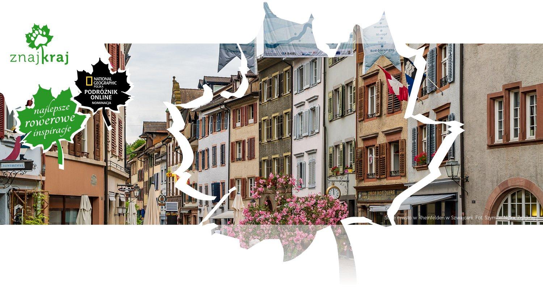 Stare miasto w Rheinfelden w Szwajcarii