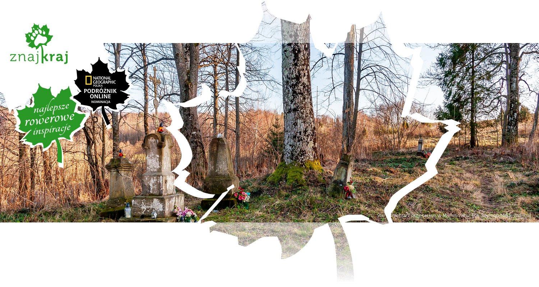 Stary cmentarz przy cerkwi w Michniowcu