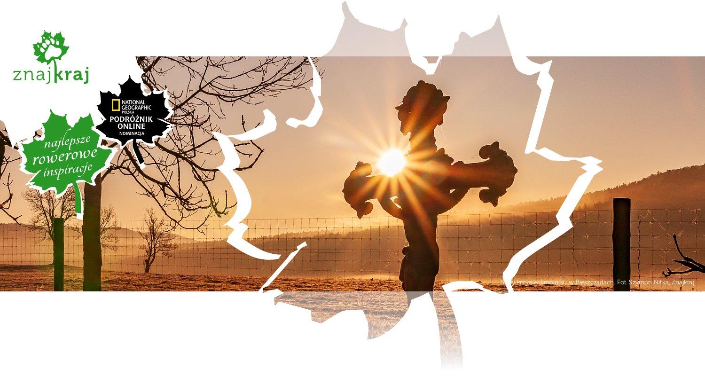 Stary krzyż w Smolniku w Bieszczadach