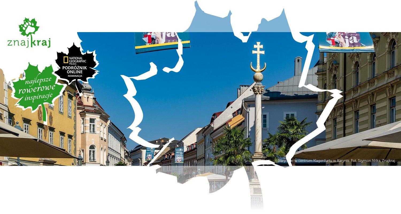 Stary Plac w centrum Klagenfurtu w Karyntii