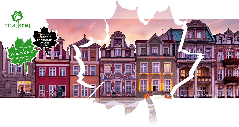 Stary Rynek w Poznaniu podczas zachodu Słońca