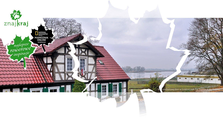 Stary szachulcowy dom w Gozdowicach