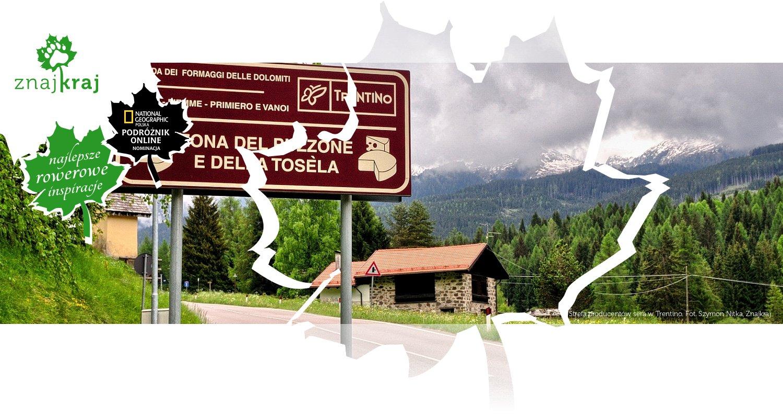 Strefa producentów sera w Trentino