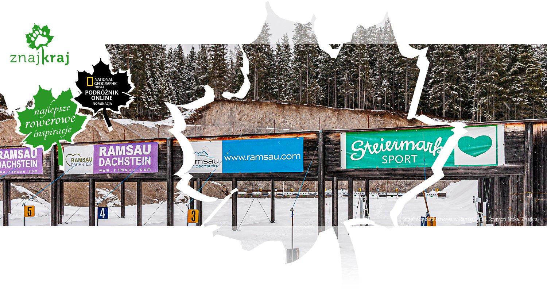Strzelnica biathlonowa w Ramsau