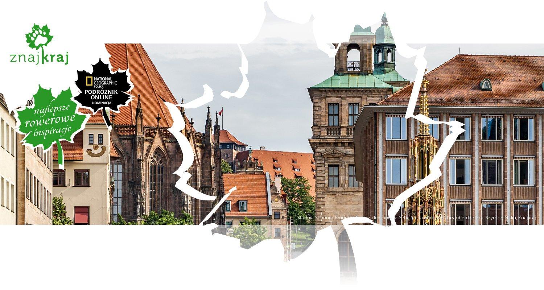 Studnia Schöner Brunnen, Ratusz i kościół św. Sebalda na rynku w Norymberdze