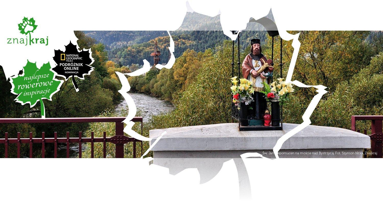 Św. Jan Nepomucen na moście nad Bystrzycą