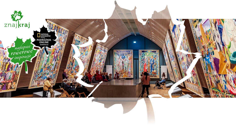 Szkice gobelinów w muzeum sztuki w Køge