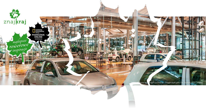Szklana Fabryka Volkswagen w Dreźnie - linia produkcyjna