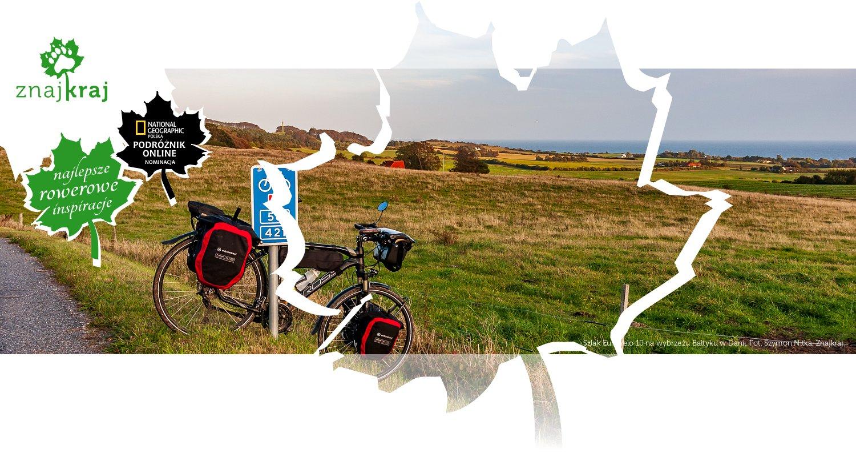 Szlak EuroVelo 10 na wybrzeżu Bałtyku w Danii