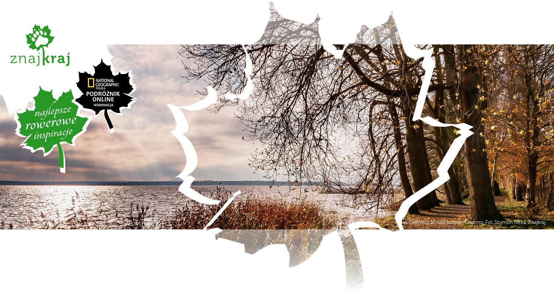 Szlak EuroVelo 10 nad jeziorem Jamno