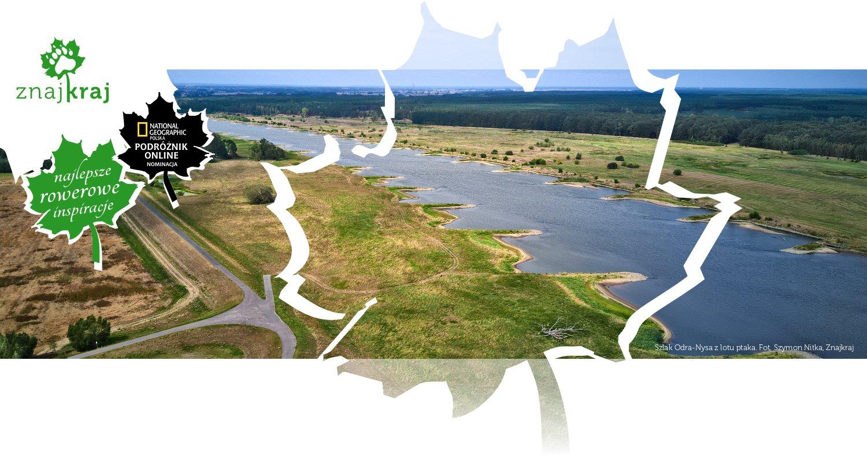 Szlak Odra-Nysa z lotu ptaka