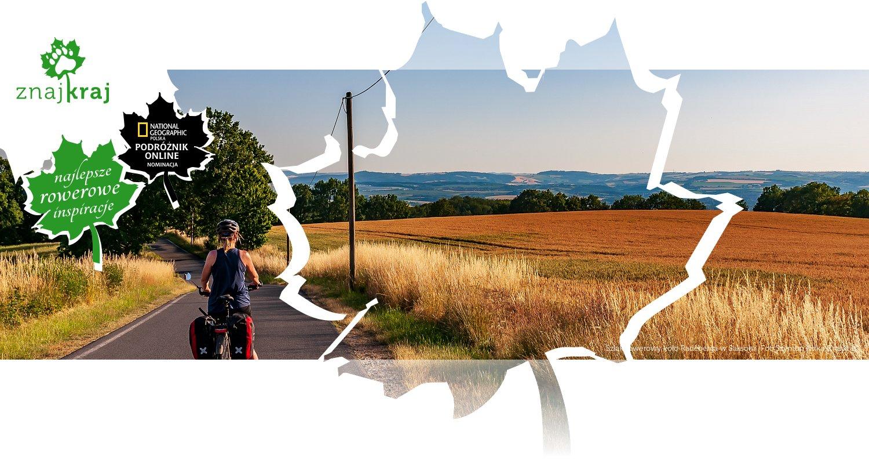 Szlak rowerowy koło Radeberga w Saksonii
