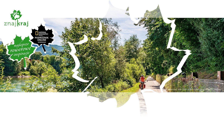 Szlak rowerowy koło Steyr w Austrii
