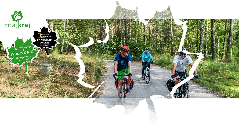 Szlak rowerowy między Olsztynem a Ostródą